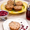 Pomegranate Streusel Muffins