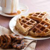 Girl Scout Samoas Waffles Recipe With Coconut Caramel Sauce