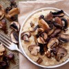 Passover Risotto: Quinoa & Roasted Mushrooms