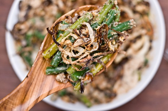 Homemade Green Bean Casserole, the Grown-up, Food Lovers Version
