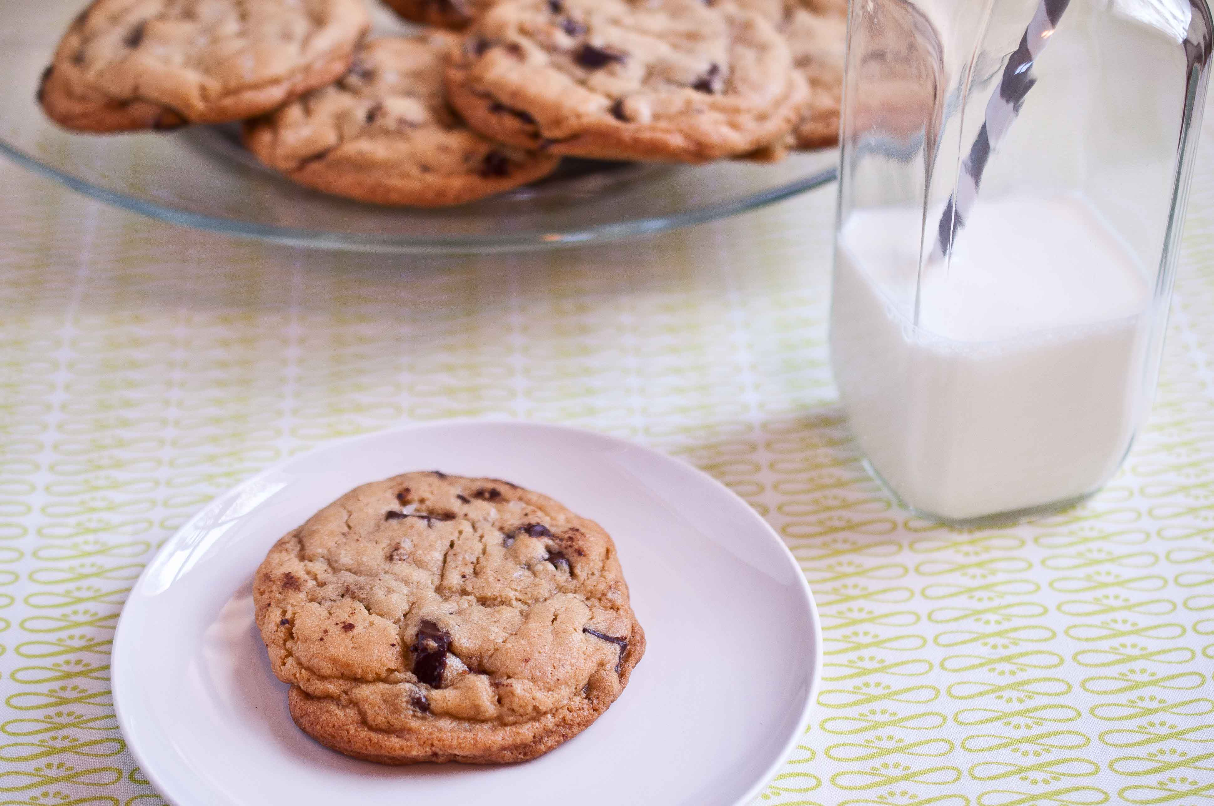 Best Chocolate Chip Cookie Recipe Ever - Domestic Fits