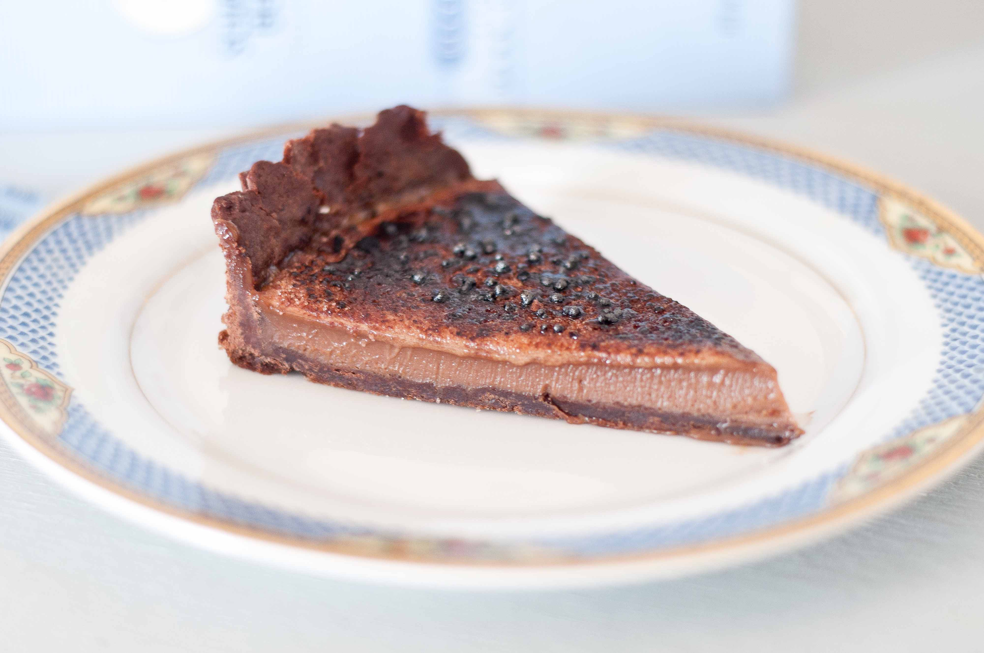 Chocolate Creme Brulee Tart & Dealing With Kitchen Failures ...