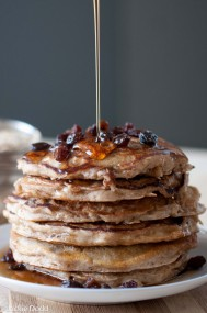 Oatmeal Cookie Pancakes5