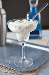 Boozy Whipped Cream-Tequilla Lime