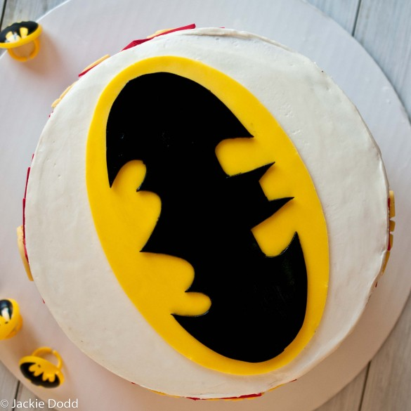 Super simple batman cake with free printable templates materials pronofoot35fo Choice Image