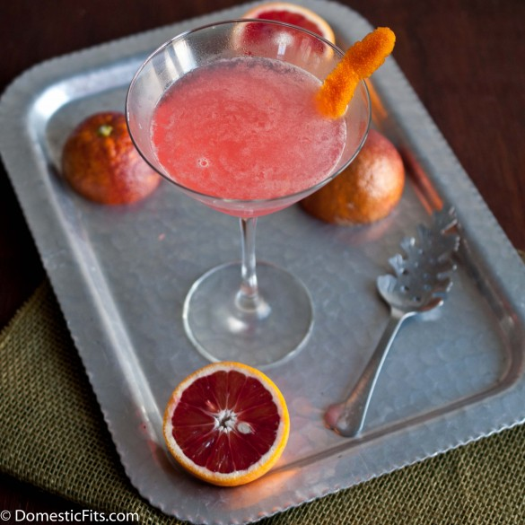 Blood and Glory Blood Orange Cocktail_