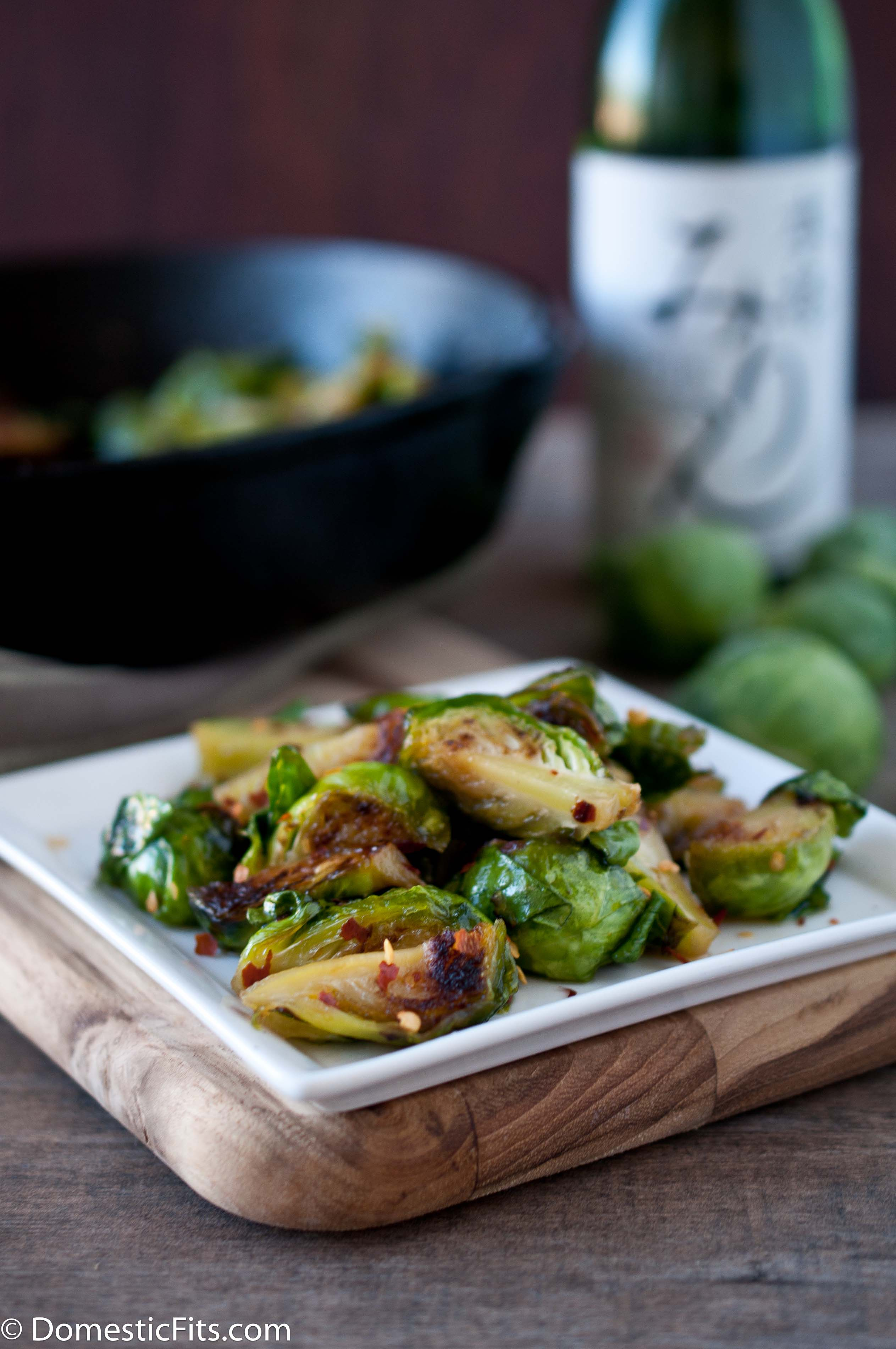 Mirin Brussels Sprouts