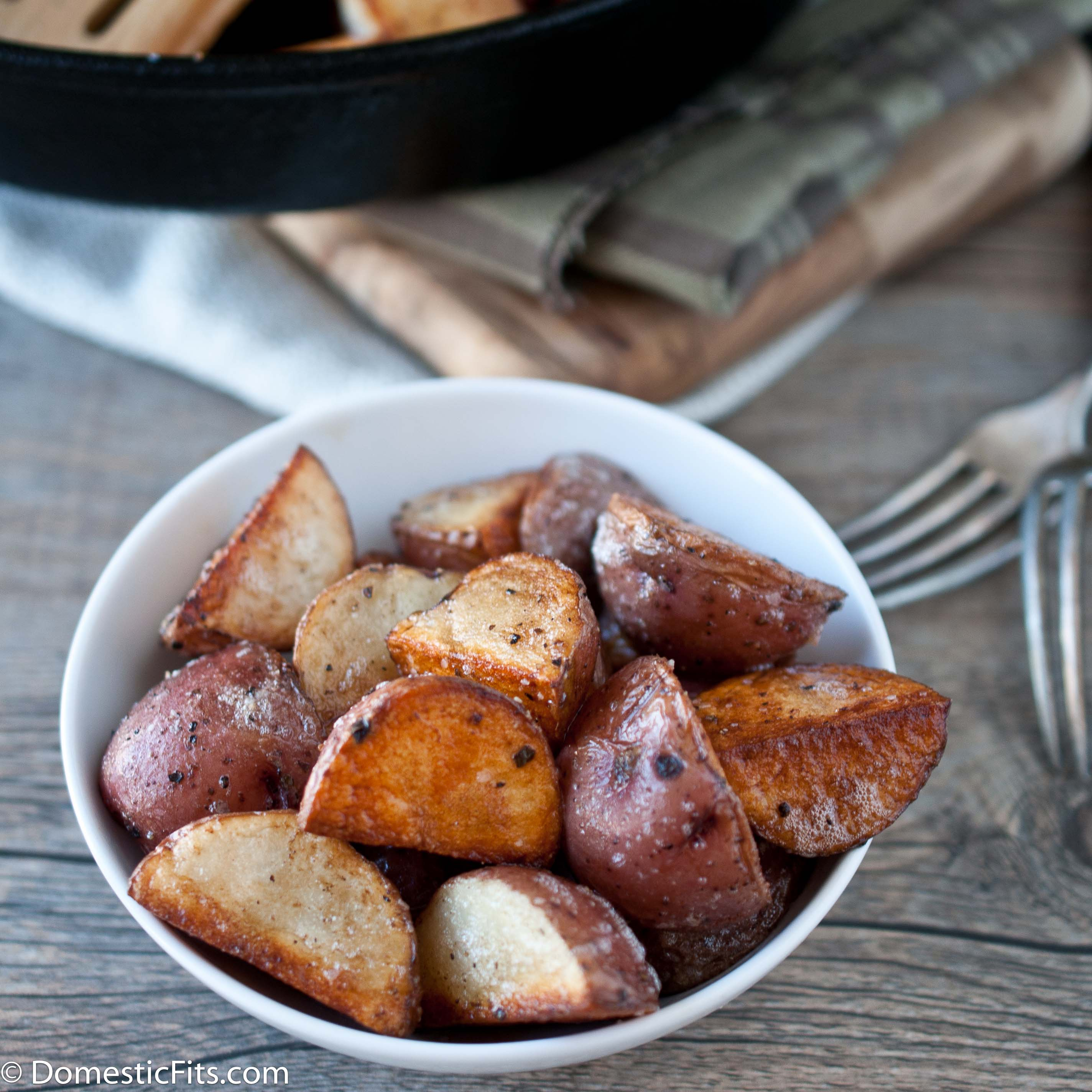 Perfect Skillet Roasted Potatoes 3
