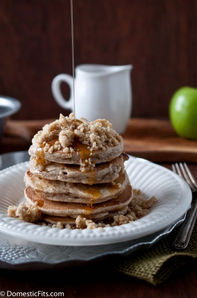 Apple StreuselPancakes4