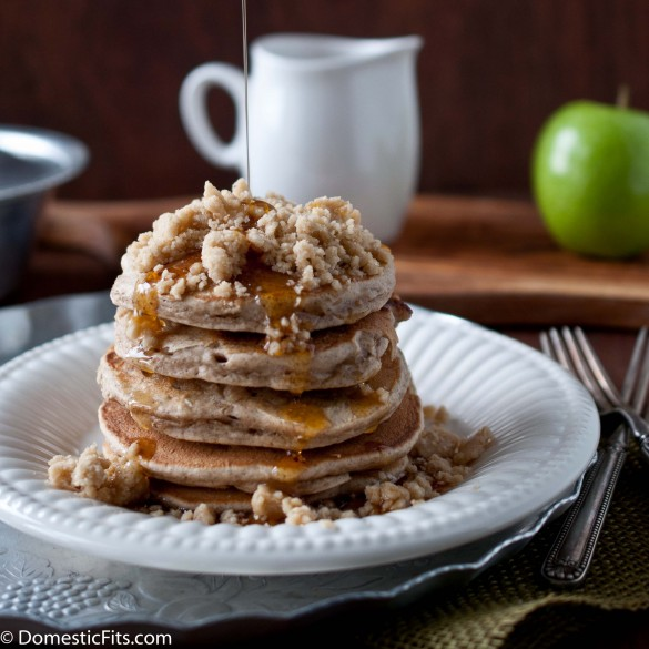 Apple StreuselPancakes5