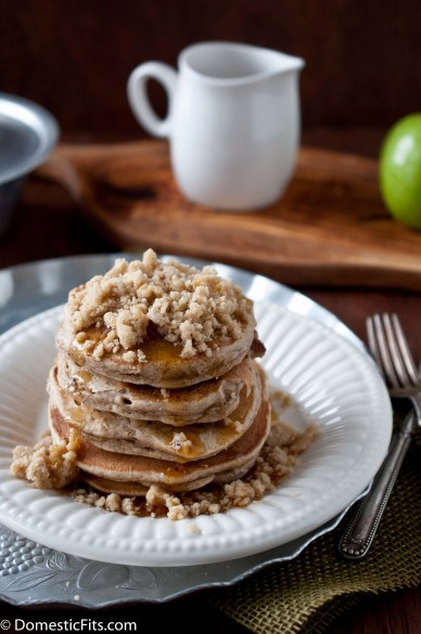 Apple StreuselPancakes6