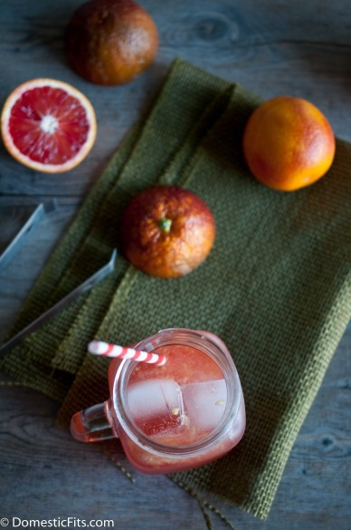 Red Rover Bourbon Blood Orange Cocktail_