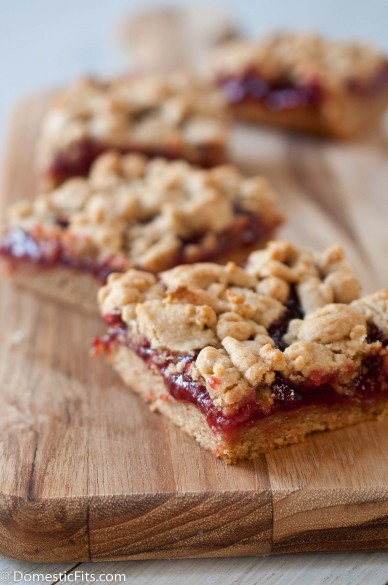 Peanut Butter and Jelly Bars4