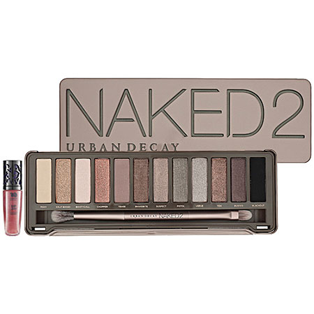 naked 2 eyeshadows