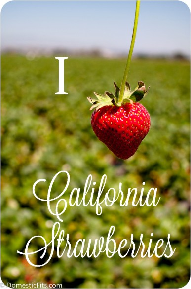 I Heart California-Strawberries
