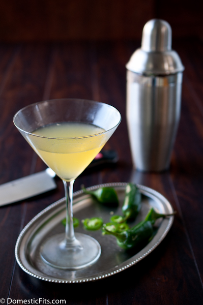 Jalapeno Peach Martini 2