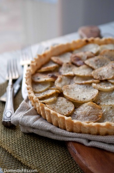 Rosemary Potato Tart (Serves 4 for $4.87)