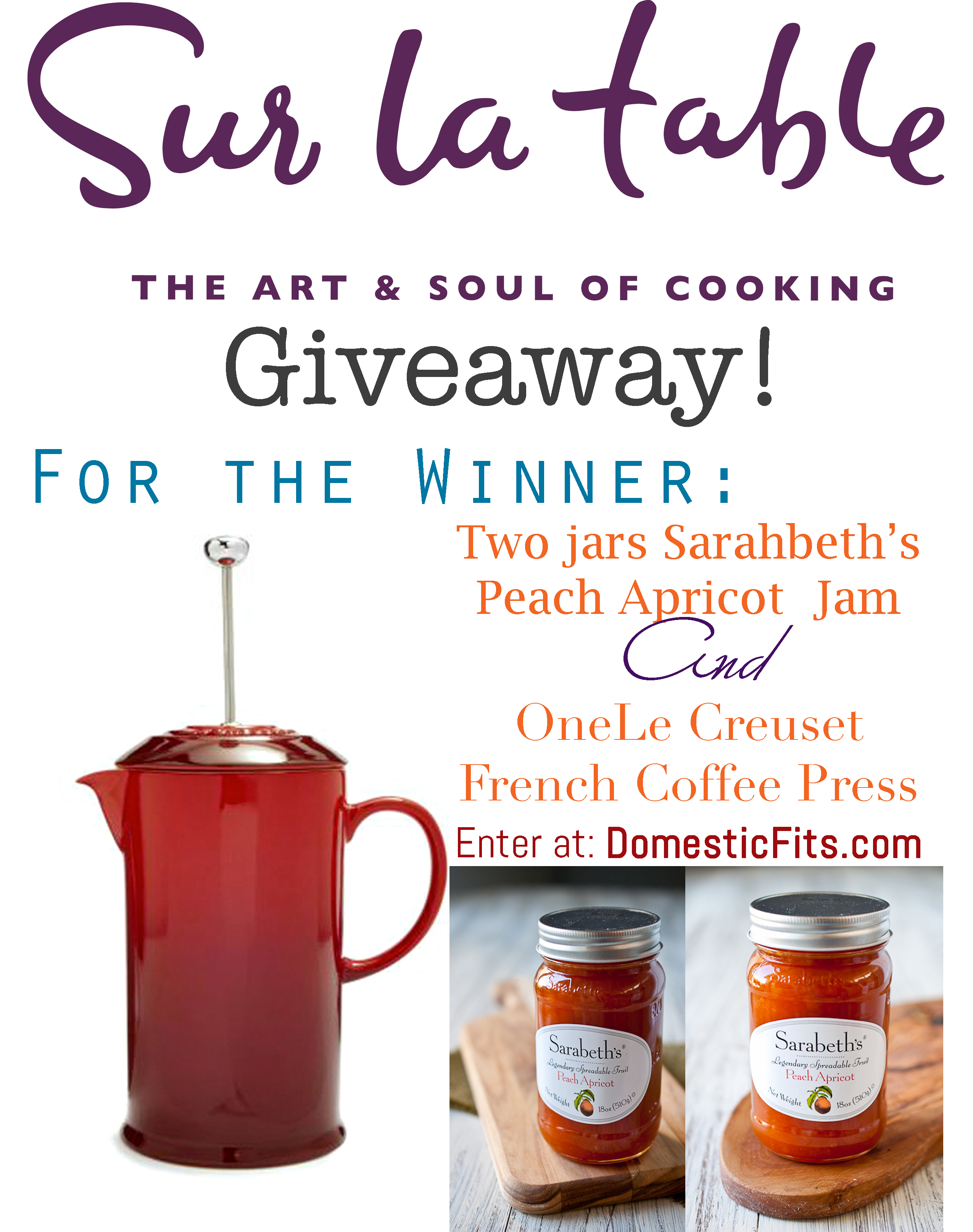 Sur La Table giveaway