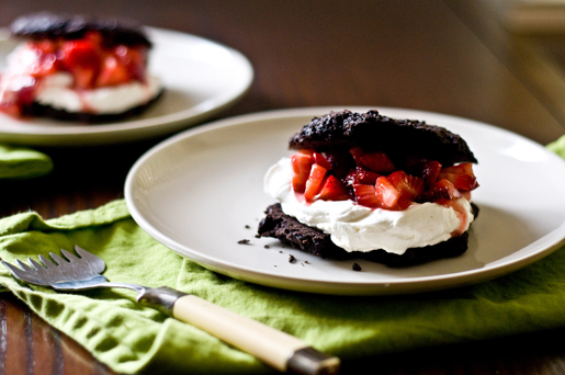 Chocolate Strawberry Shortcakes