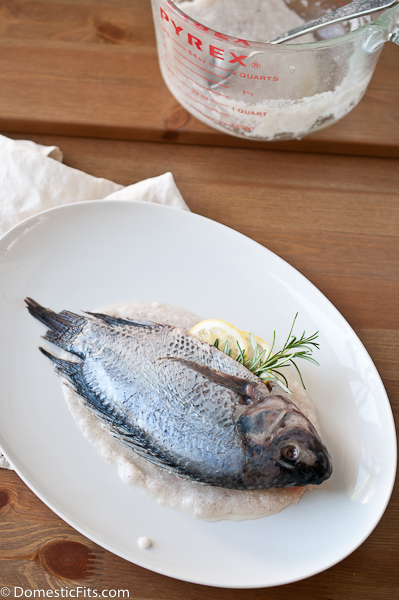 Salt Roasted Whole Fish