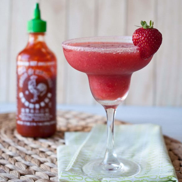 Strawberry-Sriracha-Margarita