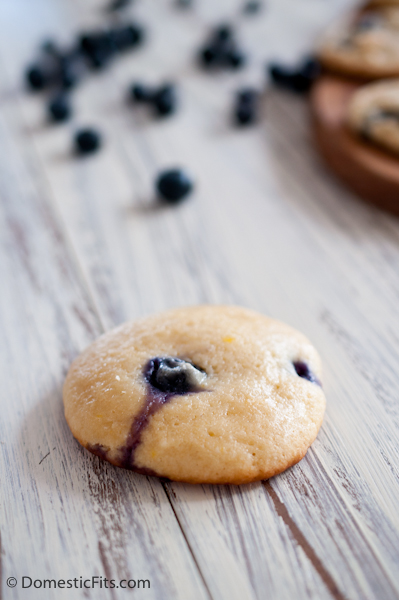 Chewy Lemon Blueberry Cookies4