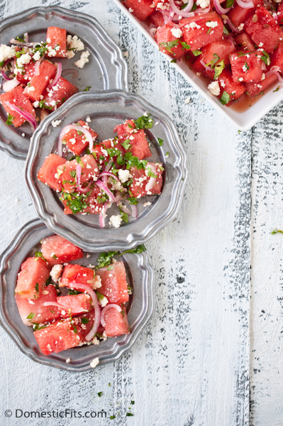 Grilled Watermelon Salad5