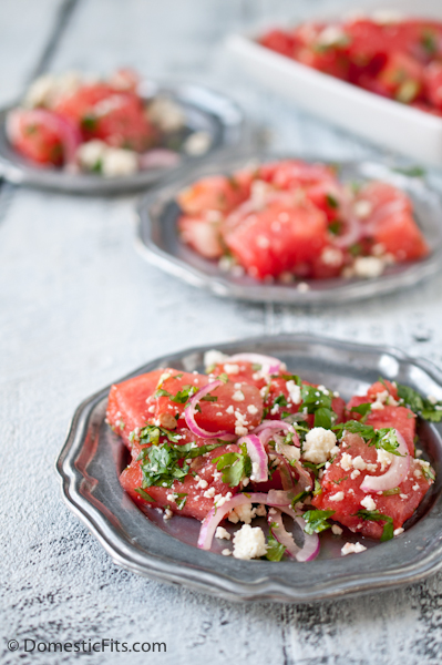 Grilled Watermelon Salad7