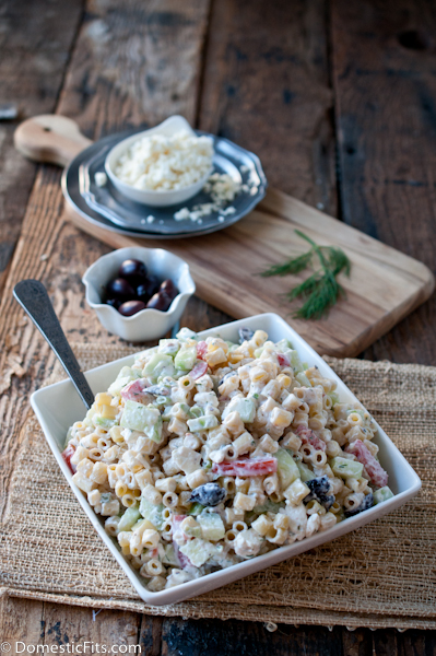 Greek Pasta Salad4