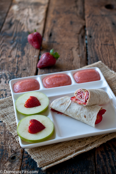 Lunch Box Idea- Strawberry Lovers Lunch #BuildABetterLunchBox