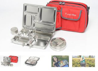 Red Rocket Lunch Box