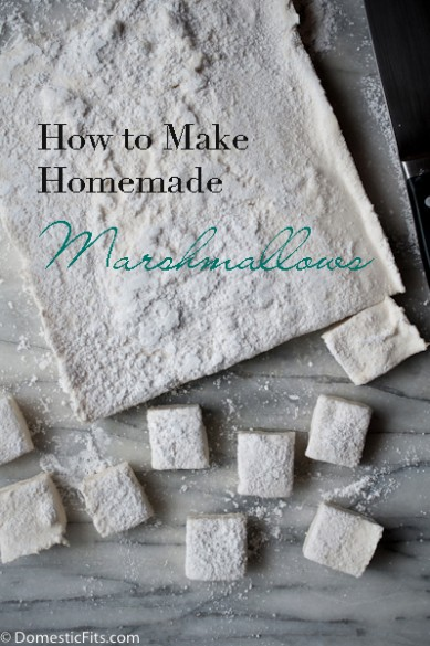 How to make homemade marshmallowsP