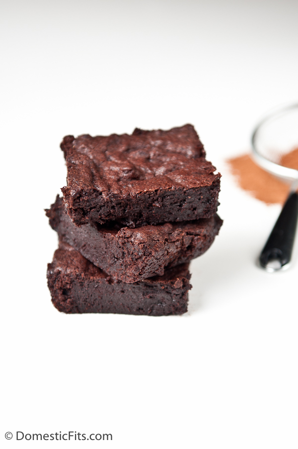 Best One Bowl Brownies -3