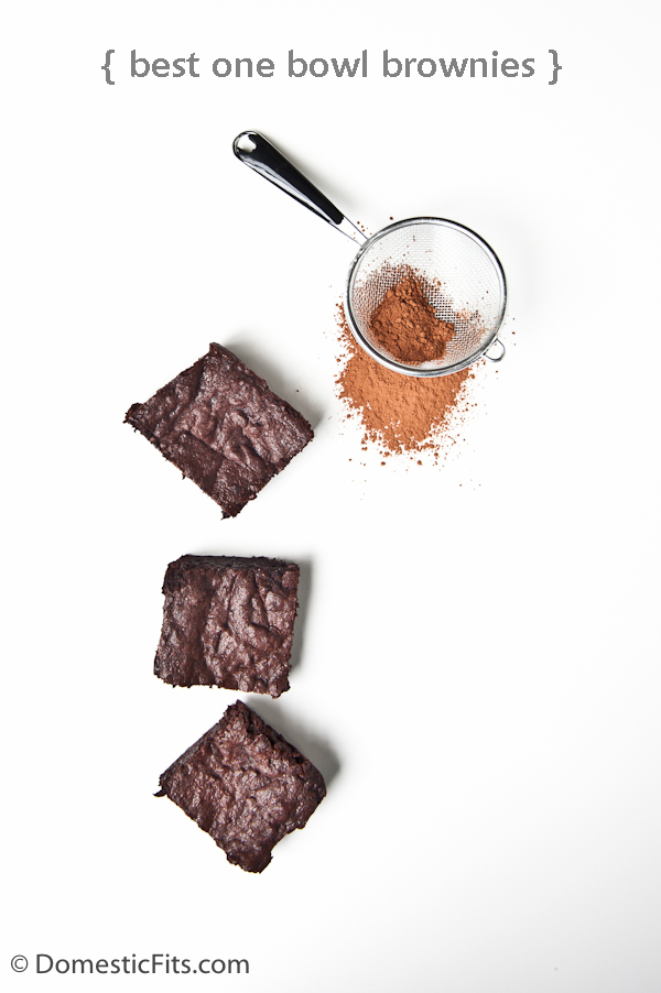 Best One Bowl Cocoa Brownies -P